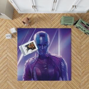 Avengers Infinity War Nebula Marvel Comics Karen Gillan Bedroom Living Room Floor Carpet Rug