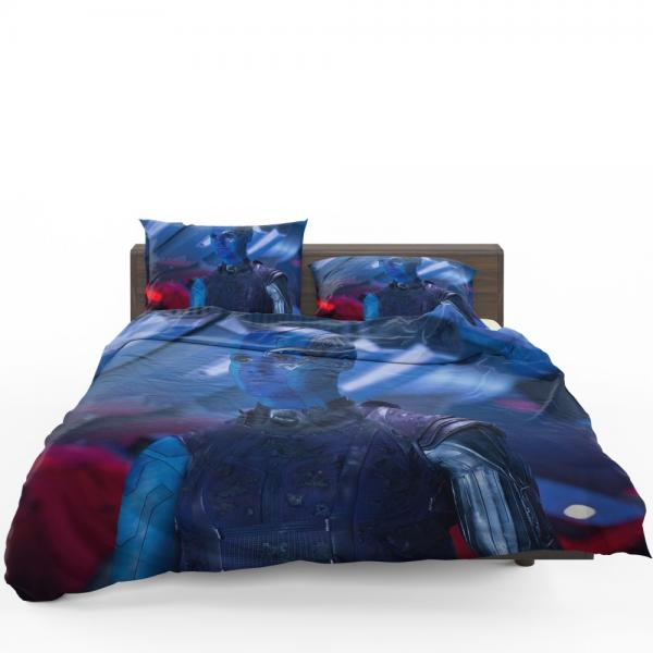 Captain Nebula Marvel Comics Bedding Set