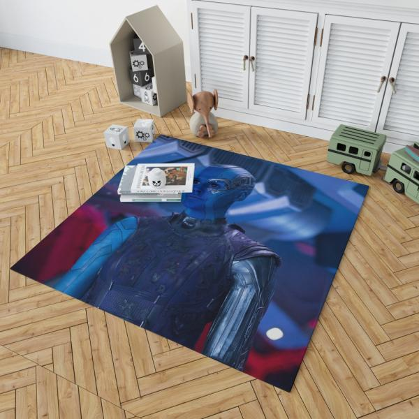 Captain Nebula Marvel Comics Bedroom Living Room Floor Carpet Rug