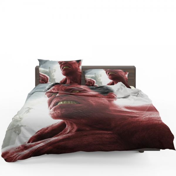 Comics Red Hulk Fall of the Hulks Prelude Marvel Bedding Set