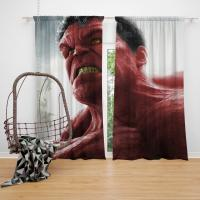 Comics Red Hulk Fall of the Hulks Prelude Marvel Bedroom Window Curtain