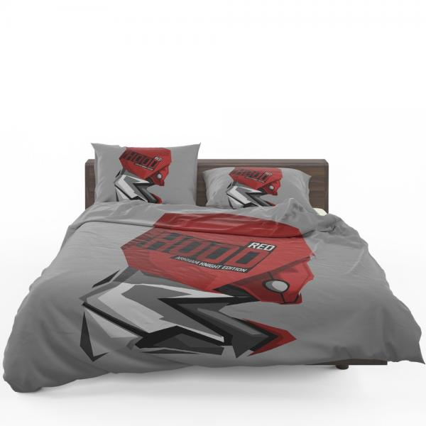 DC Arkham Knight Batman Video Games Red Hood Bedding Set