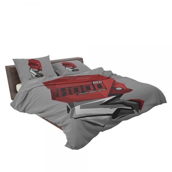 DC Arkham Knight Batman Video Games Red Hood Bedding Set