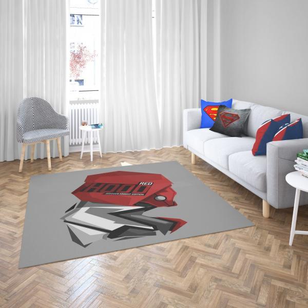 DC Arkham Knight Batman Video Games Red Hood Bedroom Living Room Floor Carpet Rug