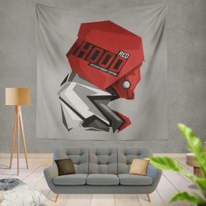 DC Arkham Knight Batman Video Games Red Hood Wall Hanging Tapestry