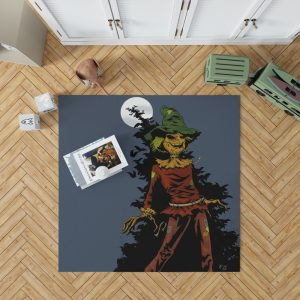 DC Comics Scarecrow Batman Injustice League Bedroom Living Room Floor Carpet Rug