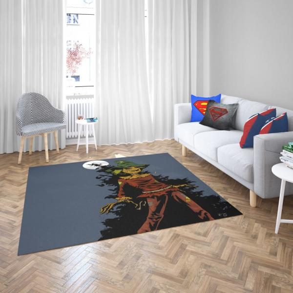 DC Comics Scarecrow Batman Injustice League Bedroom Living Room Floor Carpet Rug