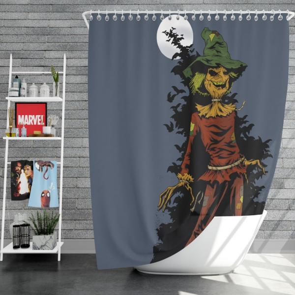 DC Comics Scarecrow Batman Injustice League Shower Curtain