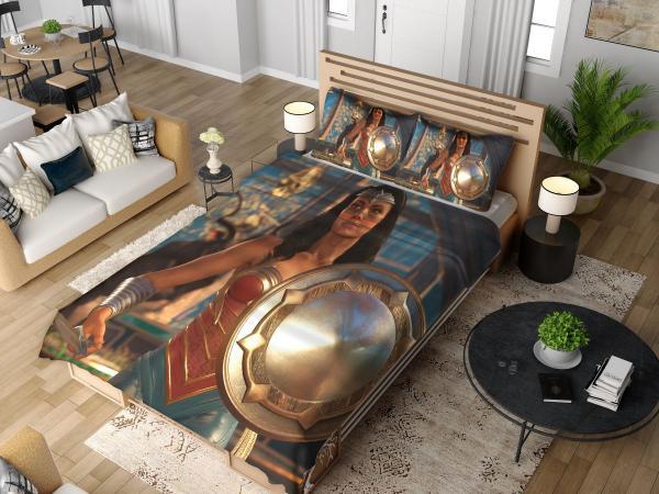 DC Comics Wonder Woman Injustice 2 Video Game Bedding Set