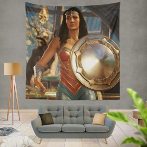 DC Comics Wonder Woman Injustice 2 Video Game Wall Hanging Tapestry