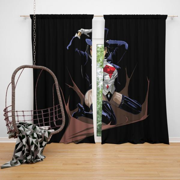DC Comics Zatanna Justice League Dark Bedroom Window Curtain
