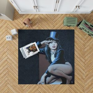DC Comics Zatanna Sentinels of Magic Bedroom Living Room Floor Carpet Rug