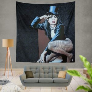 DC Comics Zatanna Sentinels of Magic Wall Hanging Tapestry