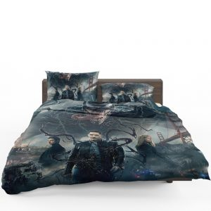 Deadpool and Venom Crossover Comics Bedding Set