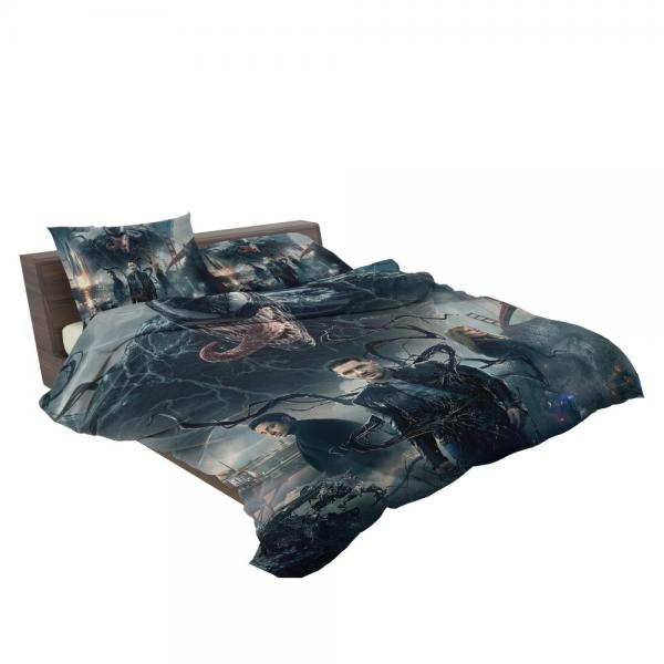 Deadpool and Venom Crossover Comics Bedding Set