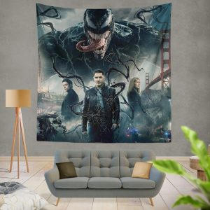 Deadpool and Venom Crossover Comics Wall Hanging Tapestry