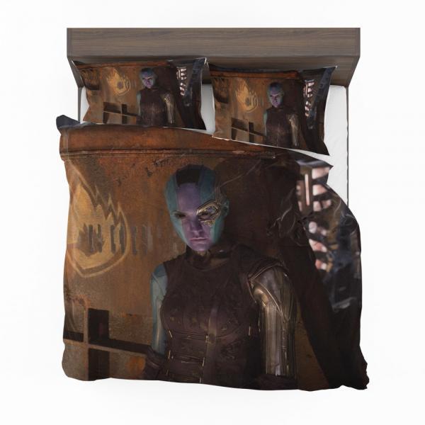 Guardians of the Galaxy Vol 2 Nebula Marvel Comics Bedding Set