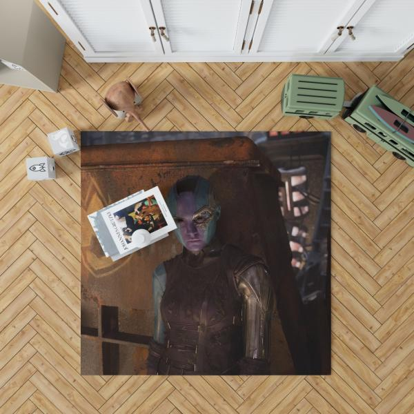 Guardians of the Galaxy Vol 2 Nebula Marvel Comics Bedroom Living Room Floor Carpet Rug