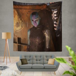 Guardians of the Galaxy Vol 2 Nebula Marvel Comics Wall Hanging Tapestry