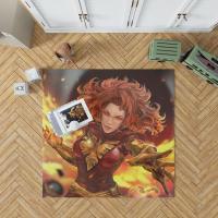 Jean Grey Comics X-Men Phoenix Marvel Comics Dark Phoenix Mutant Bedroom Living Room Floor Carpet Rug