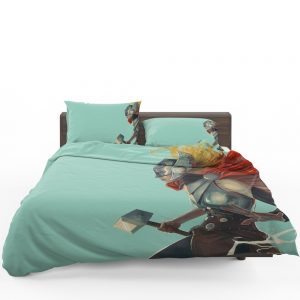 Lady Thor Marvel Comics Bedding Set