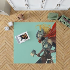 Lady Thor Marvel Comics Bedroom Living Room Floor Carpet Rug
