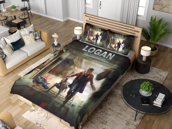 Logan The Wolverine Movie Laura Kinney X-23 Bedding Set