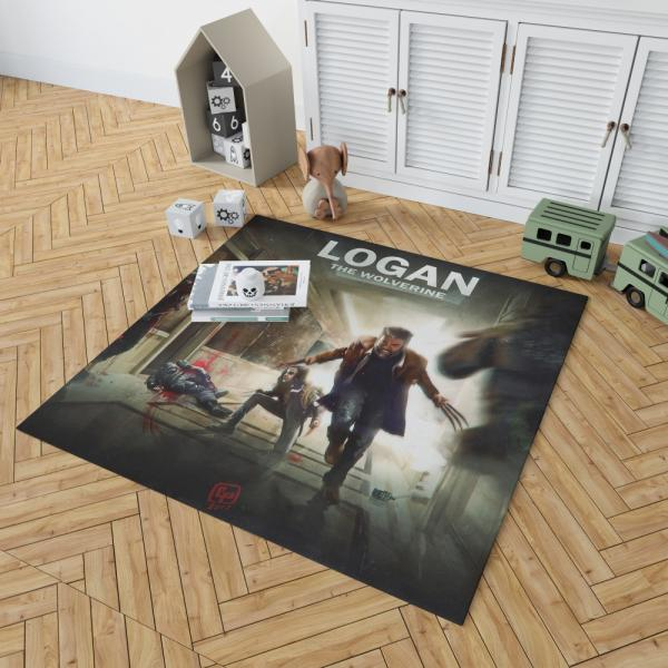 Logan The Wolverine Movie Laura Kinney X-23 Bedroom Living Room Floor Carpet Rug