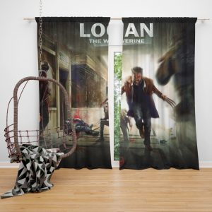 Logan The Wolverine Movie Laura Kinney X-23 Bedroom Window Curtain