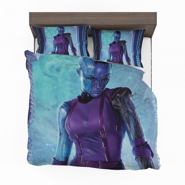 Marvel Comics Nebula Guardians of the Galaxy Bedding Set
