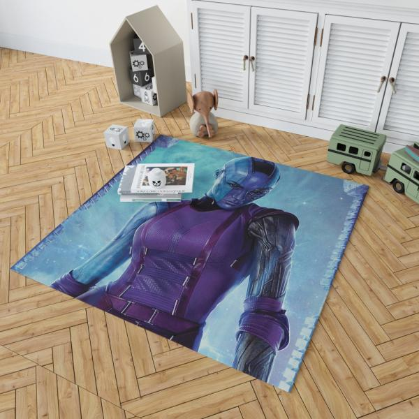 Marvel Comics Nebula Guardians of the Galaxy Bedroom Living Room Floor Carpet Rug