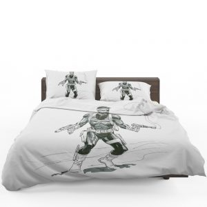 Marvel Comics Nick Fury Secret Warriors   Bedding Set