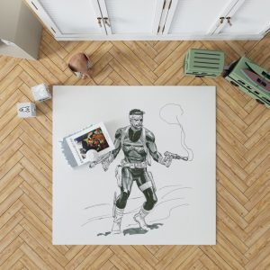 Marvel Comics Nick Fury Secret Warriors  Bedroom Living Room Floor Carpet Rug