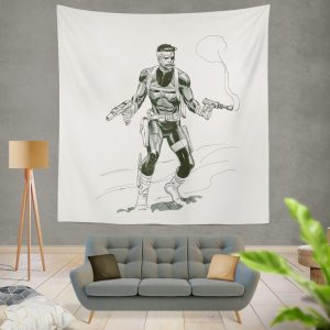 Marvel Comics Nick Fury Secret Warriors Wall Hanging Tapestry
