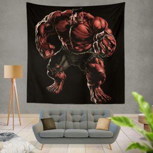 Marvel Comics Red Hulk Hulkbusters Wall Hanging Tapestry