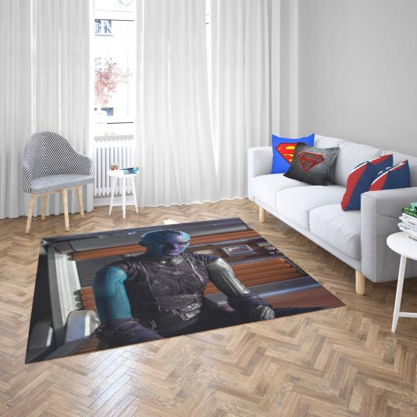 Ms Peale Nebula Marvel Cinematic Universe Bedroom Living Room Floor Carpet Rug