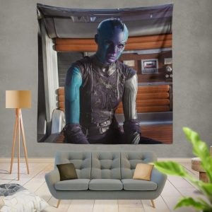 Ms Peale Nebula Marvel Cinematic Universe Wall Hanging Tapestry