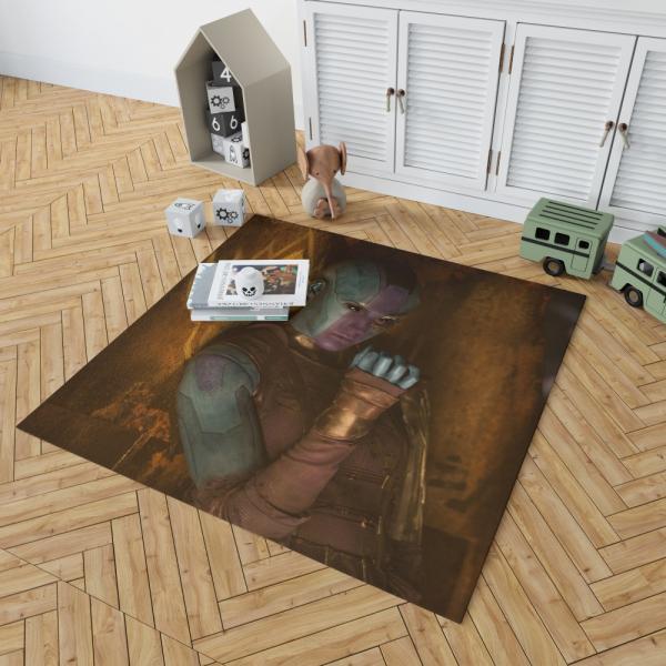 Nebula Comics Karen Gillan Super Heroein Bedroom Living Room Floor Carpet Rug