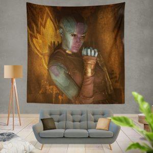 Nebula Comics Karen Gillan Super Heroein Wall Hanging Tapestry