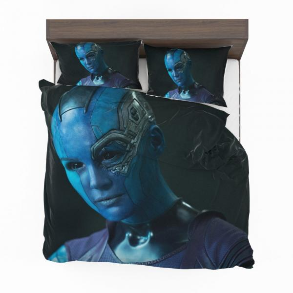Nebula Marvel Comics Karen Gillan in Guardians of the Galaxy Movie Bedding Set