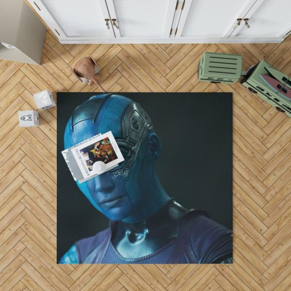 Nebula Marvel Comics Karen Gillan in Guardians of the Galaxy Movie Bedroom Living Room Floor Carpet Rug