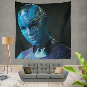 Nebula Marvel Comics Karen Gillan in Guardians of the Galaxy Movie Wall Hanging Tapestry