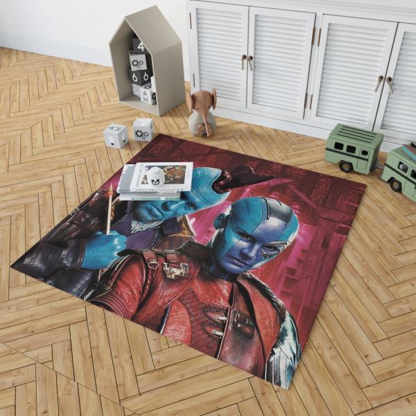 Nebula & Yondu Udonta Marvel Comics Guardians of the Galaxy Vol 2 Bedroom Living Room Floor Carpet Rug