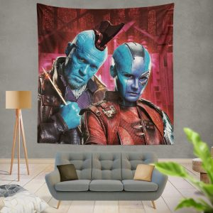 Nebula & Yondu Udonta Marvel Comics Guardians of the Galaxy Vol 2 Wall Hanging Tapestry