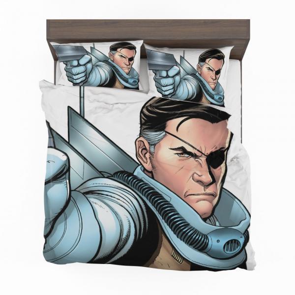 Nick Fury Agent of SHIELD Bedding Set