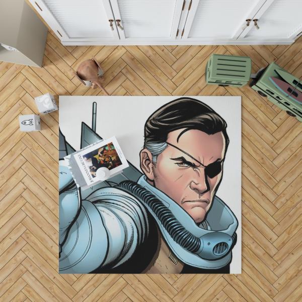 Nick Fury Agent of SHIELD Bedroom Living Room Floor Carpet Rug
