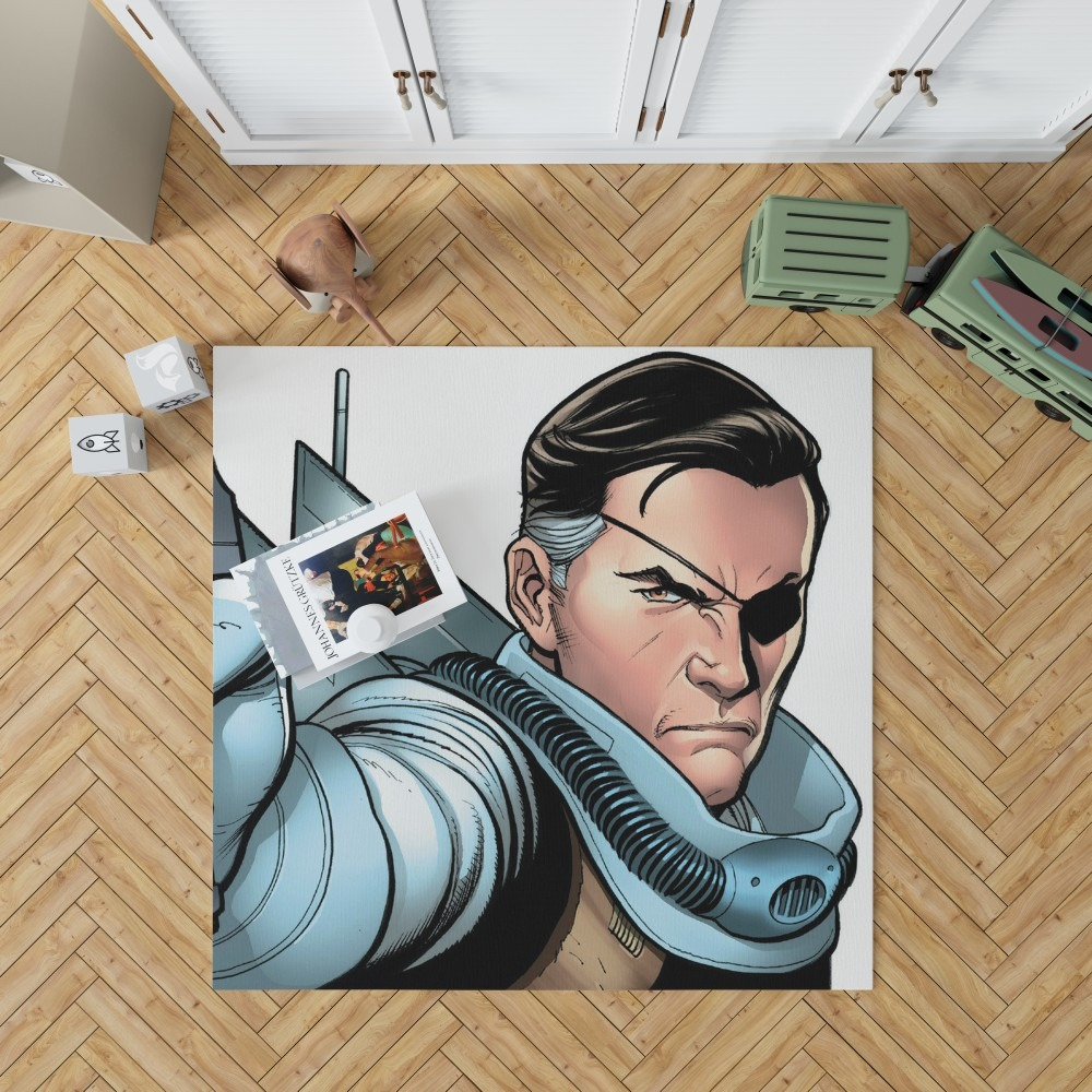 Nick Fury Agent of SHIELD Bedroom Living Room Floor Carpet ...