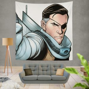 Nick Fury Agent of SHIELD Wall Hanging Tapestry