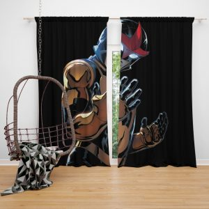 Nova Champions of Xandar Marvel Comics Bedroom Window Curtain