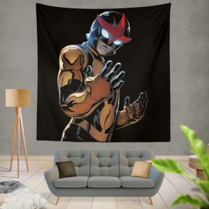 Nova Champions of Xandar Marvel Comics Wall Hanging Tapestry